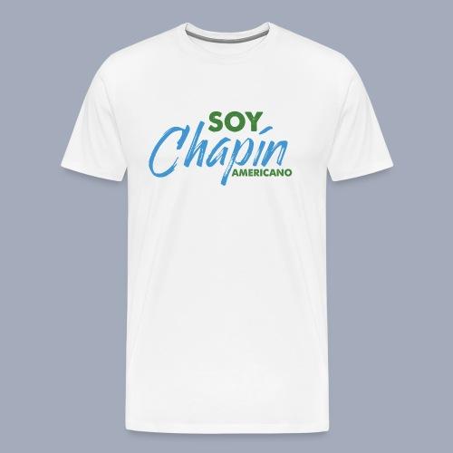 Soy Chapín Americano - blue - Men's Premium T-Shirt