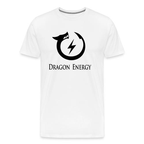 Dragon Energy (black graphic) - Men's Premium T-Shirt