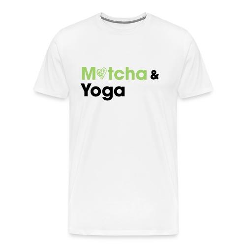 Matcha & Yoga T-shirt - Men's Premium T-Shirt