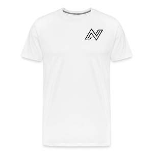 N Logo - Men's Premium T-Shirt