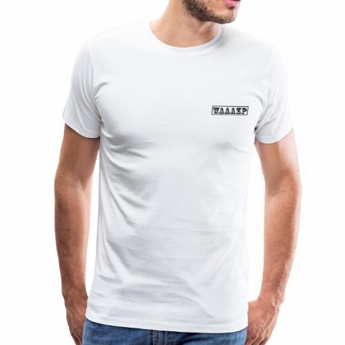 waaazp brand logo - Men's Premium T-Shirt
