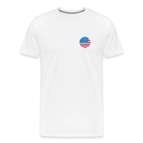 Independence day USA flag Fourth Of July T-Shirts - Men's Premium T-Shirt