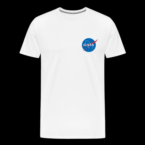 Gaia Nasa Logo - Men's Premium T-Shirt