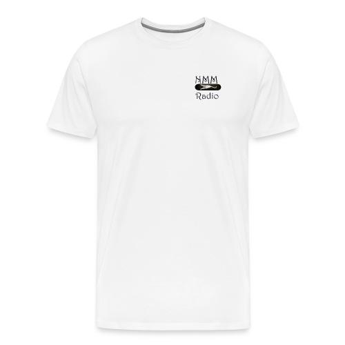NMM stretching white cat skateboard - Men's Premium T-Shirt