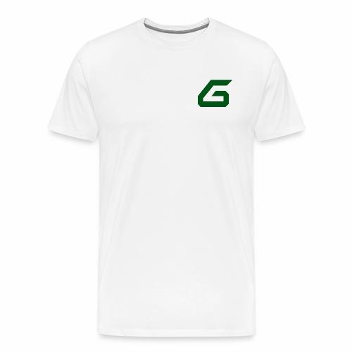 The New Era M/V Sweatshirt Logo - Green - Men's Premium T-Shirt