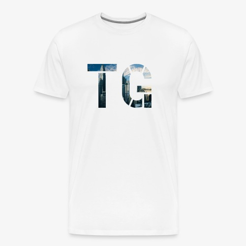 Initials 2 - Men's Premium T-Shirt