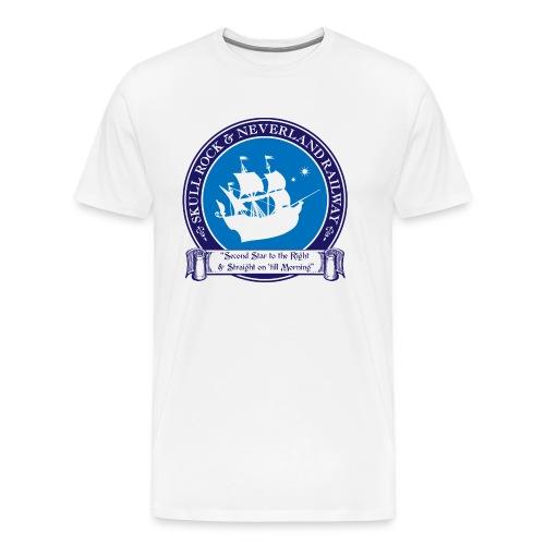 Skull Rock and Neverland - Men's Premium T-Shirt