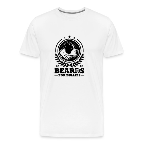 Official black logo - Men's Premium T-Shirt