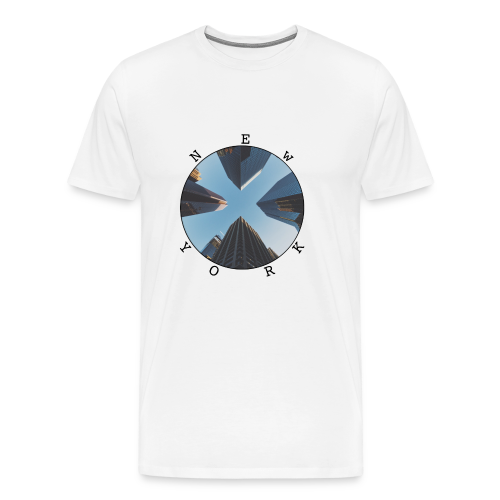 new york circle - Men's Premium T-Shirt