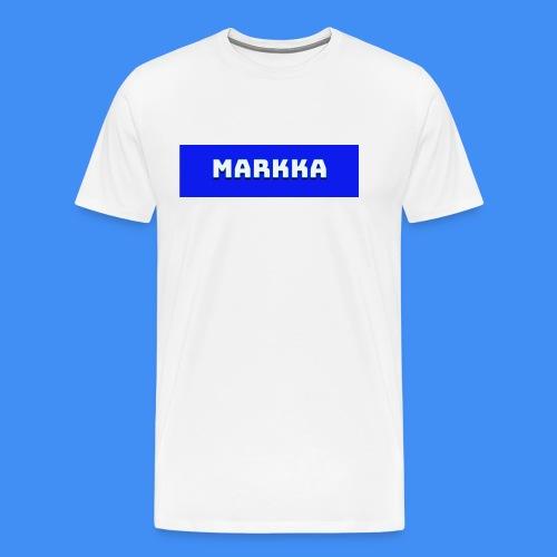 Markka Box Design - Men's Premium T-Shirt