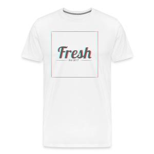 3d square logo - Men's Premium T-Shirt