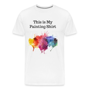 painting shirt diy - Men's Premium T-Shirt