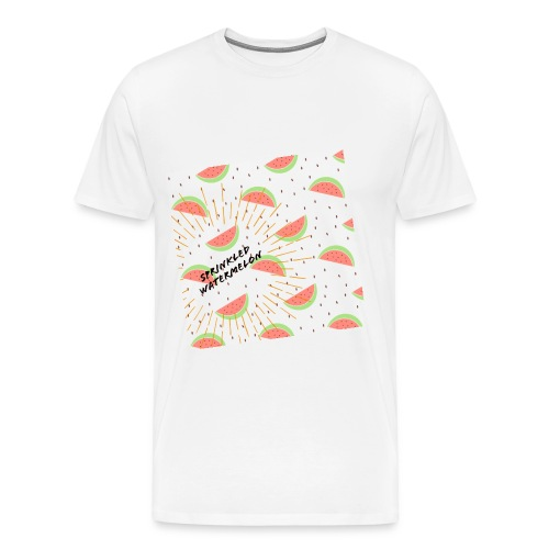 Sprinkled watermelone - Men's Premium T-Shirt