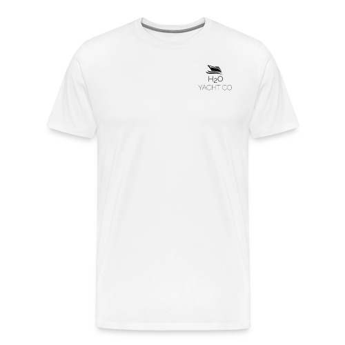 H2O Yacht Co. Black - Men's Premium T-Shirt