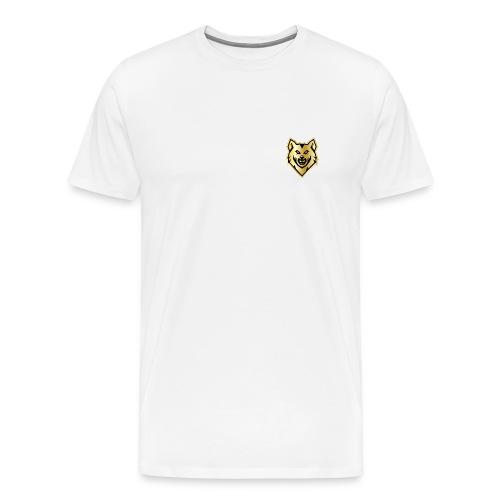 Wolf gril - Men's Premium T-Shirt