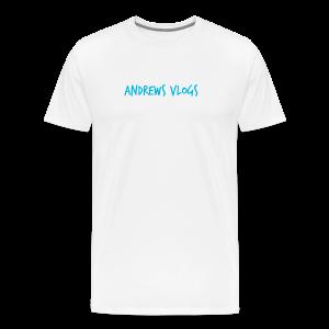 Andrews Vlogs Logo - Men's Premium T-Shirt