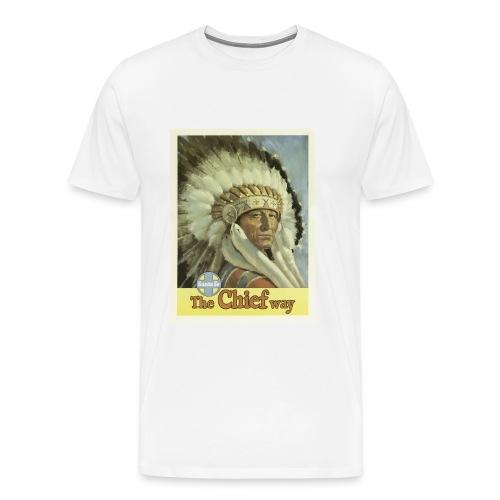 Vintage Travel Poster Santa Fe New Mexico USA - Men's Premium T-Shirt