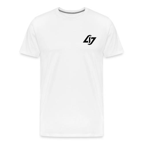 AJM Squad black logo - Men's Premium T-Shirt