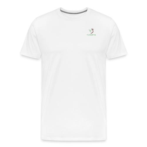 Logo Trại gà Tú Martin - Men's Premium T-Shirt
