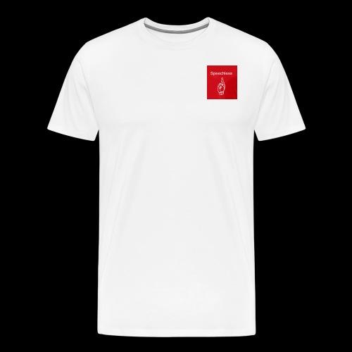 Speechless introduction - Men's Premium T-Shirt