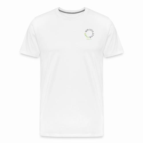 Winding Stair Farm logo - black text - Men's Premium T-Shirt