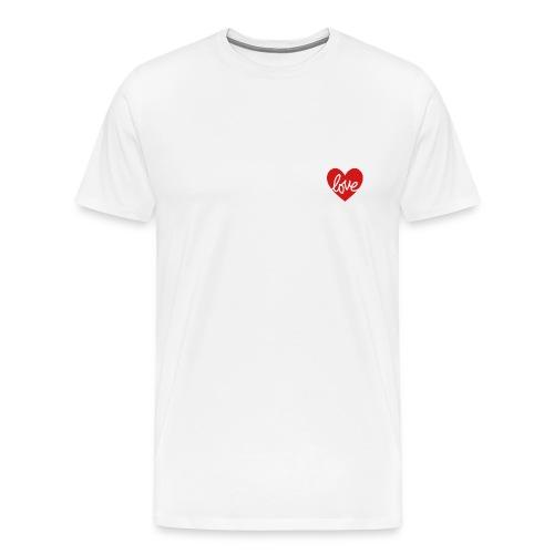 Love In My Heart - Men's Premium T-Shirt