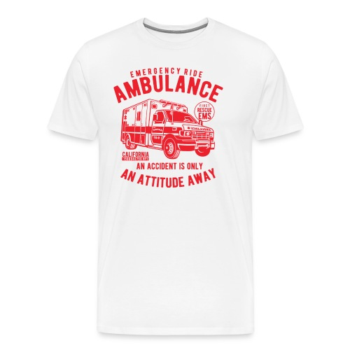 EMERGENCY RIDE - Men's Premium T-Shirt