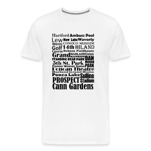 Places to Be in Ponca City - Men's Premium T-Shirt