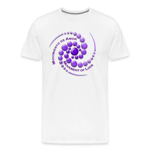 Movimiento de Amor - Men's Premium T-Shirt