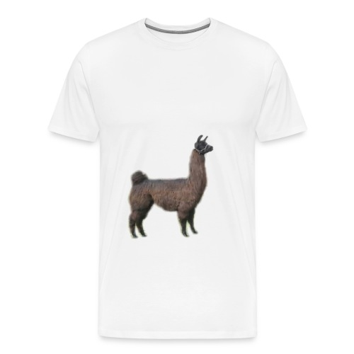 Super Llama - Men's Premium T-Shirt