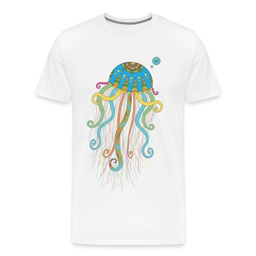 Vis - Jellyfish - Men's Premium T-Shirt