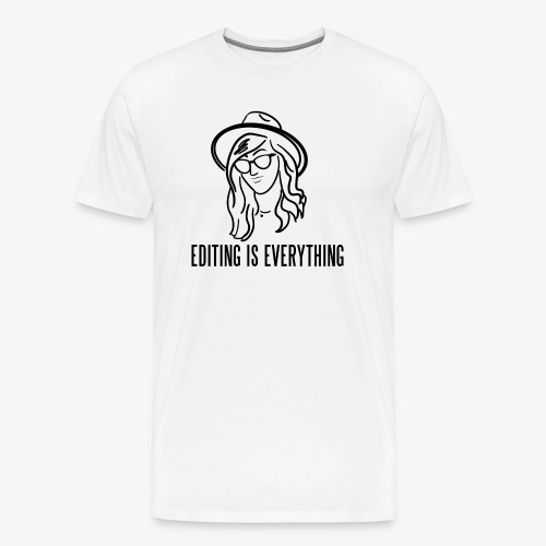 Editing Is Everything NEW LOGO - Men's Premium T-Shirt