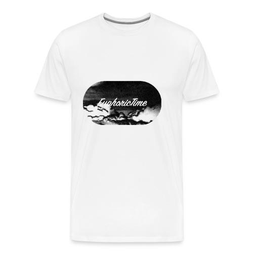 EuphoricTime Black & White - Men's Premium T-Shirt