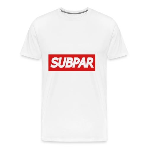 SUBPAR(TM) Brand Clothing - Men's Premium T-Shirt