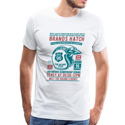 Brands Hatch Racing 1996 Royal Club Racer Gifts - Men's Premium T-Shirt