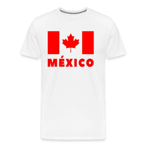 Mexico Flag Final - Men's Premium T-Shirt