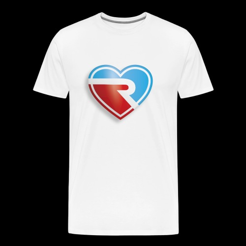 River PB Heart - Men's Premium T-Shirt