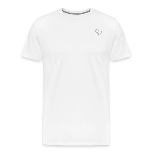 Smokey Quartz SQ T-shirt - Men's Premium T-Shirt
