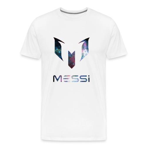 Lionel Messi Galaxy Logo - Men's Premium T-Shirt