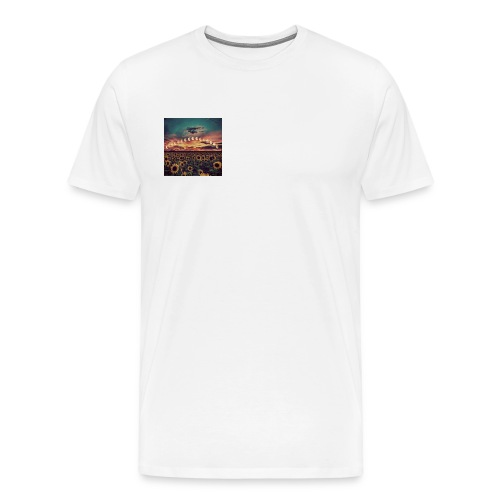 Trippy Moon - Men's Premium T-Shirt