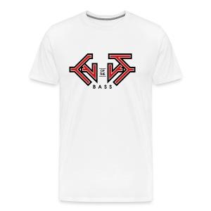 Cult Of the Bass Logo Shirt - Men's Premium T-Shirt