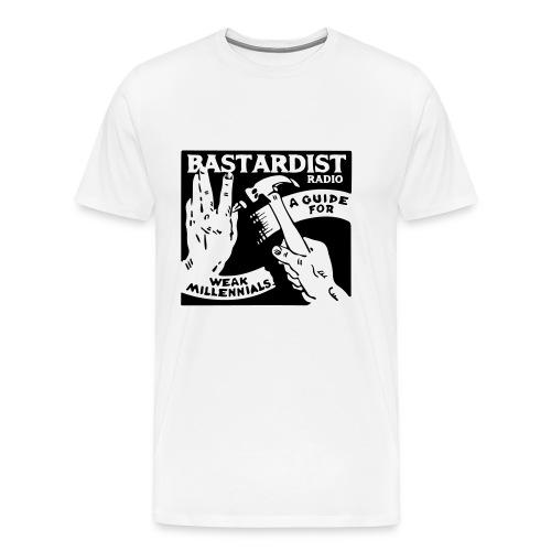 Bastardist Radio Block - Men's Premium T-Shirt