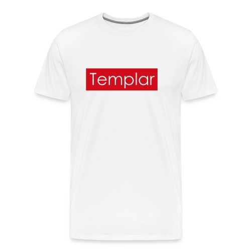 Red bar Templar - Men's Premium T-Shirt