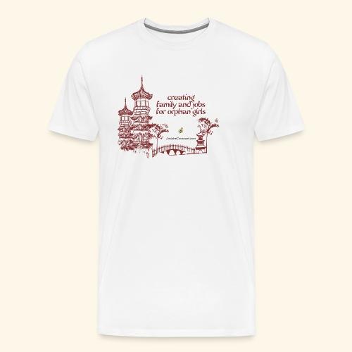 Josiah's Covenant - creating family - Men's Premium T-Shirt