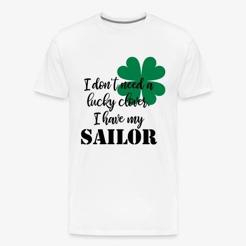 Lucky Clover Sailor - Men's Premium T-Shirt