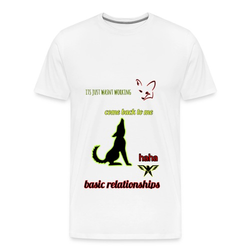 pet relationships - Men's Premium T-Shirt