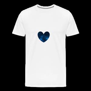 Galaxy Heart - Men's Premium T-Shirt