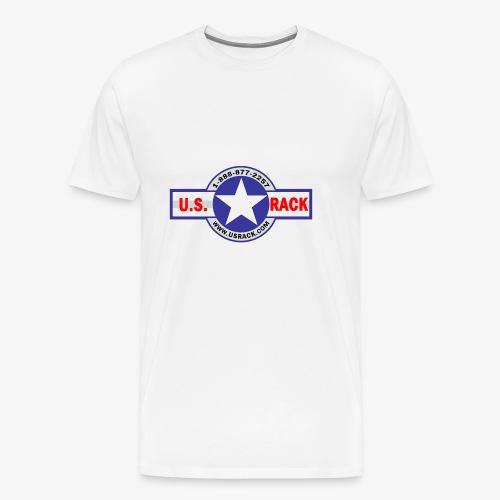 US Rack Logo - Men's Premium T-Shirt