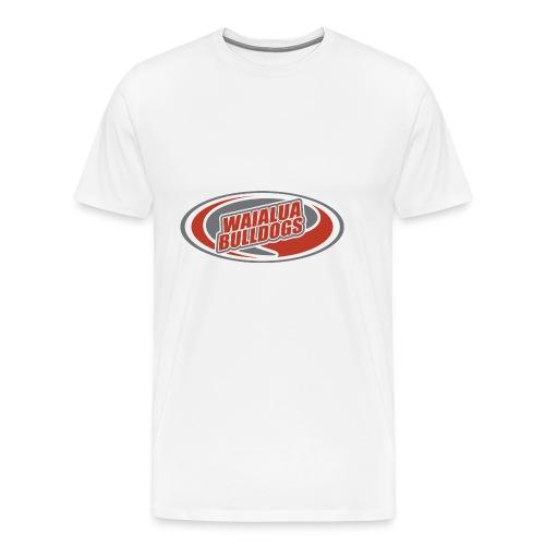 Waialua Bulldogs - Men's Premium T-Shirt