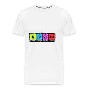 Sarcasm Periodic Elements Of Humor - Men's Premium T-Shirt